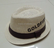 Wholesale fedora straw hats men
