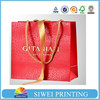 Eco-friendly hot sale high quality gift bag with logo print