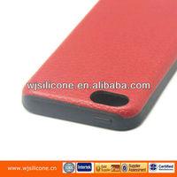 TPU+PU phone skin cell phone housing for iphone 5C