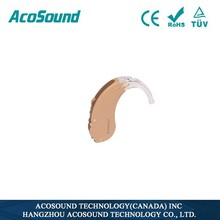 Well Price Standard Well Sale AcoSound Acomate 410 BTE Digital china hearing aids wireless bug listening device