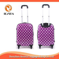 Hard Carry-on Trolley Luggage,Travel Trolley Case With 4 Wheel