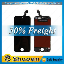 foxconn technology 100% original lcd for iphone 5s,lcd touch screen for iphone 5s