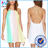 New Sexy Women Summer Casual Sleeveless Party Evening Cocktail Short Mini Dress Yihao