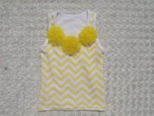 Hot sale chevron baby top baby t shirt