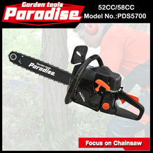 """PDS5700 58CC .325 Pitch Oil Pump India Chainsaw for Sale with 22"""" Bar"""