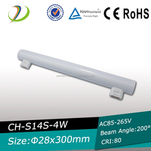 S14 LED light 6W S14 LED 600lm LED linear lamp with S14S/S14d lamp base s14s linestra s14s line s14s led tube