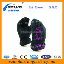 Free Shipping Winter Night reflective Waterproof Slip-resistant Thermal Motorcycle Thickening Ski Gloves
