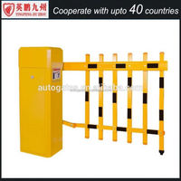 180 Degree Aluminium Alloy Folding Gate Automatic Car Road Barrier Auto Gate System