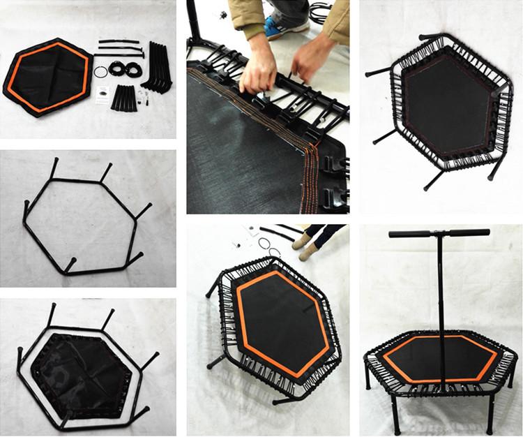 hexagon mini trampoline buy trampoline hexagon mini. Black Bedroom Furniture Sets. Home Design Ideas