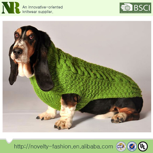 Lovely Designer Pet Application Winter Free Knitting Pattern Dog