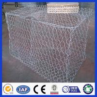 Hot-dip galvanized low carbon steel wire Gabion box / Gabion mattress / gabion mat