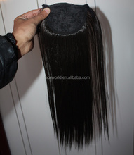 Factory wholesale ponytail popular claw clip ponytail human hair extension