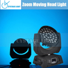 36X10W Moving Head Stage Light, RGBW 4in1 Zoom LED Stage Light
