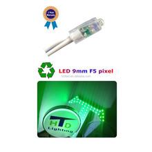 High Brightness 9mm LED Pixel Light/9mm LED String Light Red/Green/Blue/White/RGB