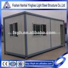 20ft casas pré-fabricadas container para venda