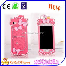 3D cartoon custom mobile phone cover cell phone case