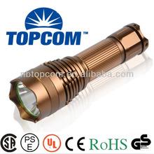 cree XM-L led 1200 lumens 10W rechargeable tactical flashlight TP-1841C