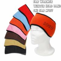 WD-1510 promotional polar Fleece headband for ear warmers or ski ear muff