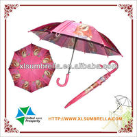 "Umbrella manufacturer for 18"" heat transfer cheap kid umbrella"