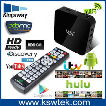2014 Top Quality Aml 8726 Dual Core MX Android Smart TV Box