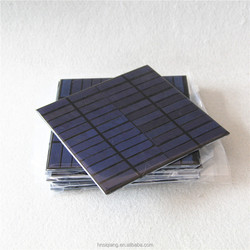 Polycrystalline 3W 12V 155*155mm small epoxy frameless solar module for toys/led light