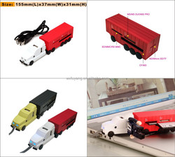Truck Shape 3 Port USB with Micro SD/TF/MS/M2/CF/MD/SD Card Reader Combo Hub