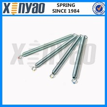 Zinc plated exercise equipment springs