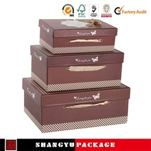 Creative super paper gift packaging box
