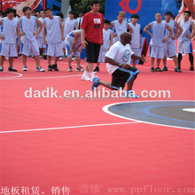 Youth Olympic Games interlocking basketball court floor tile