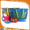 Handmade felt shoulder tote shopping bag
