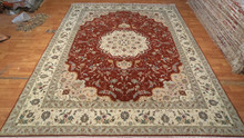 hand knotted wool and silk rugs handmade carpets