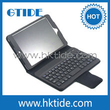 Hot sale Bluetooth silicone keyboard case for ipad mini 3