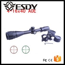 Optics 4-16x40 AOE Illuminated Adventure Class Scope Riflescope 11mm-22mm Mounts Airsoft