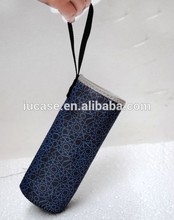 promotional neoprene bottle cover with handle