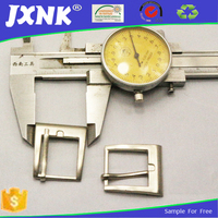 Western pin turning buckle for belt reversible buckle