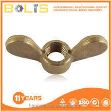 DIN 315 made in China brass wing nuts