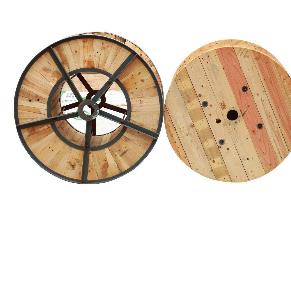 Factory supply size mm cable wire wooden