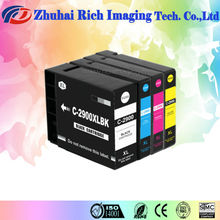 Compatible ink cartridge for canon PGI-2900XLBK/C/M/Y Office Supplies