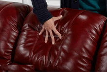 Genuine Leather Recliner Sofa Set/Best Sofa Set/Bright Colored Leather Set