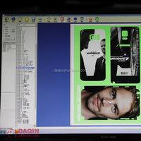 daqin custom cell phone sticker making templates / mobile skin making templates