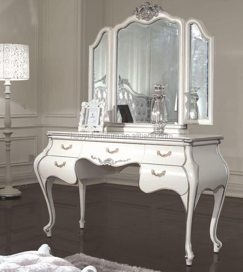 Antieke spiegel glas sm05 antieke kaptafel met spiegel en stoel antiek bladgoud frame muur - Oude meubilair dressoir ...