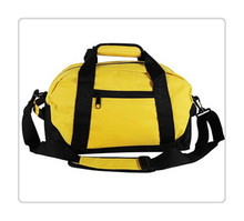 Custom Wholesale Polyester Sports Bag/Foldable Sports Duffle Bag / Leisure Waterproof Sport Bag