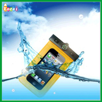 Encai Fashion Summer Mobile Phone PVC Waterproof Bag With Compass & Thermometer /Transparent PVC Neck Pouch For Cellphone