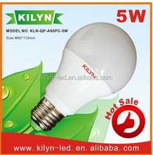 Saving electricity cost new model e27 led light bulb 5w emergency led bulb light with built-in battery