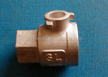 Brass casting parts/ Investment casting Service/ Engineering part