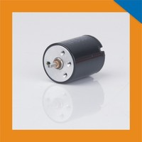 small diameter metal brush electric motor dc 12v