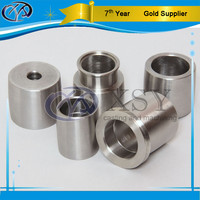 electroless nickel plating of shiny bright finish aluminum alloy 6000 series cnc machining parts