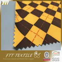 Polyester Tackle Twill Printing Peach Skin Fabric Wholesale