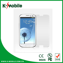 Factory price 2.5d tempered glass screen protector 9H Smart touch glass screen protector app protector for S7562