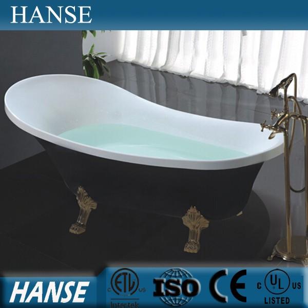 Hs-b511 Antique Double Ended Bathtub/ Long Bath Tub/ Free-standing ...